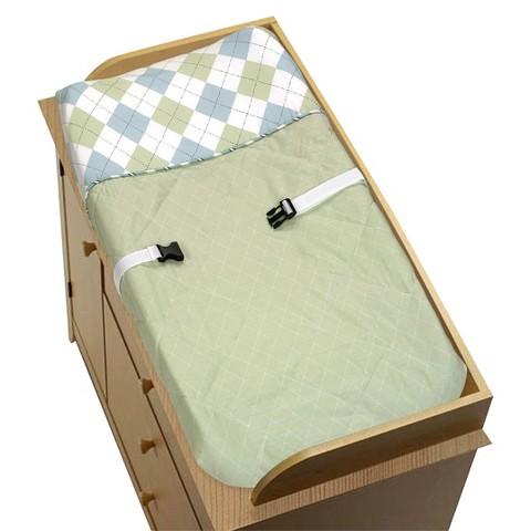 Sweet Jojo Designs Argyle cpc - Green