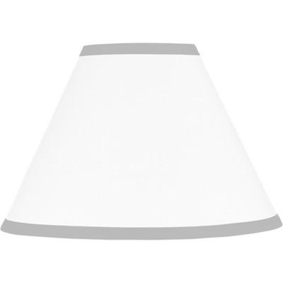 Sweet Jojo Designs Hotel Lamp Shade - White and Gray