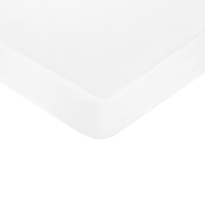Sweet Jojo Designs Princess Fitted Crib Sheet - White