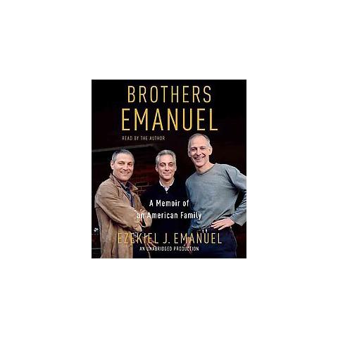 Brothers Emanuel (Unabridged) (Compact Disc)