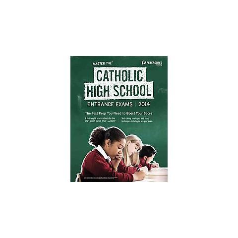 Master the Catholic High School Entrance Exams 2014 (Paperback)