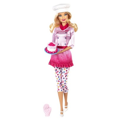 Barbie I Can Be Sweets Chef Doll