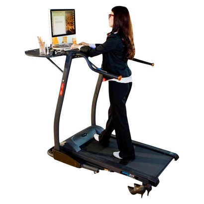 Exerpeutic 2000 Workfit Desk Station Electric Treadmill