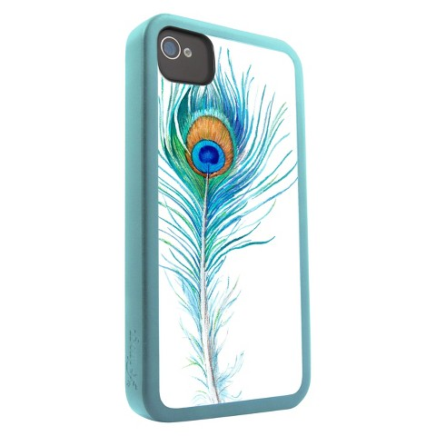 Zagg iFrogz Mix Cell Phone Case for iPhone4/4S - Blue/White (IP4MIX-PEA)