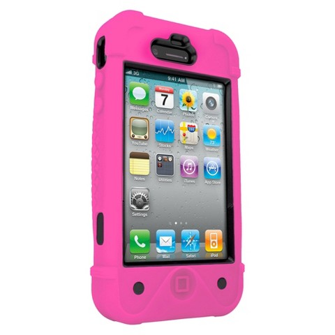 Zagg iFrogz Bullfrogz Cell Phone Case for iPhone4/4S - Pink/Black (IP4BF-PKBK)
