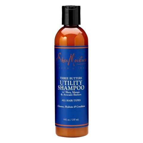 SheaMoisture Three Butters Utility Shampoo - 8 fl oz