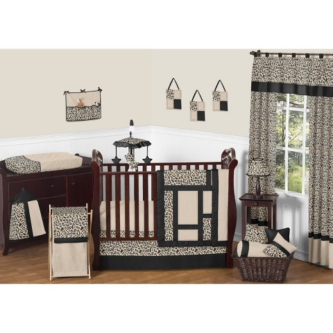 Sweet Jojo Designs 11pc Animal Safari Crib Set