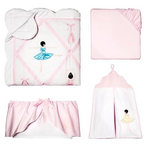 Sweet Jojo Designs 11pc Ballerina Crib Set