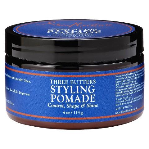 SheaMoisture Three Butters Styling Pomade - 4 oz