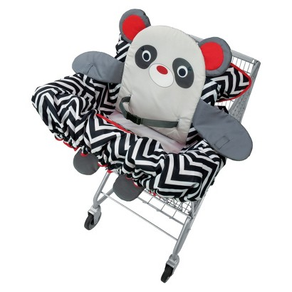 Infantino Buddy Guard 2-in-1 Shopping Cart and High Chair Cover - Panda