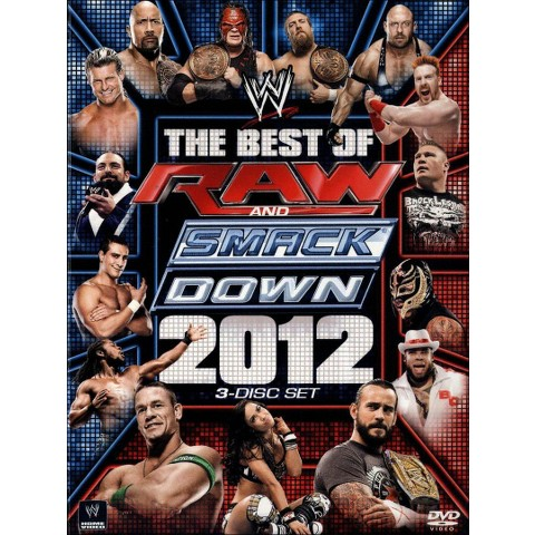 WWE: The Best of Raw and Smackdown 2012 (3 Discs)