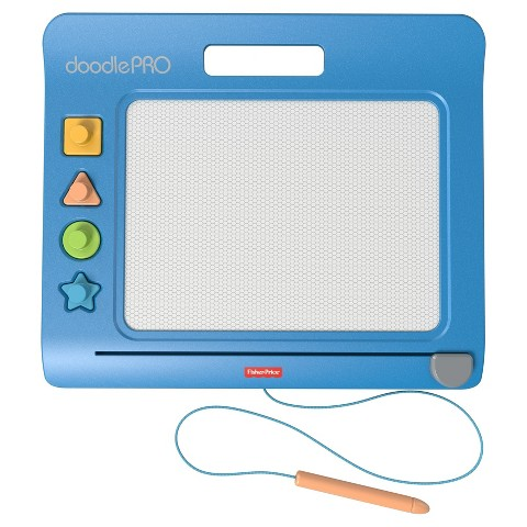 Fisher-Price Doodle Pro Classic with 2 Stampers - Blue (Assortments May Vary)