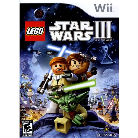 LEGO® Star Wars III: The Clone Wars Pre-Owned (Nintendo Wii)