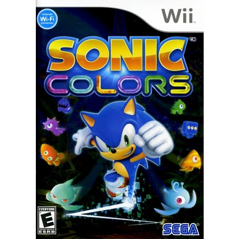 Sonic Colors PRE-OWNED (Nintendo Wii)