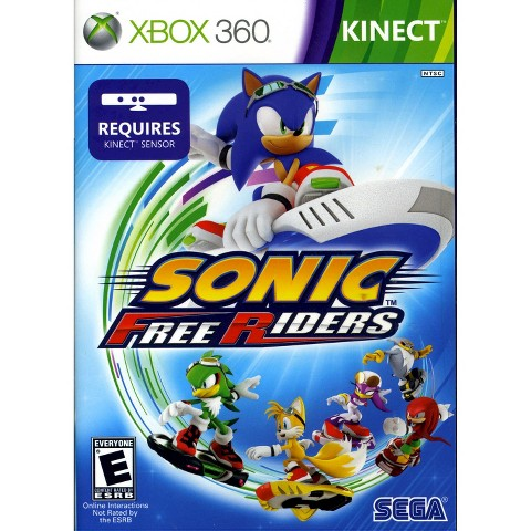Sonic Free Riders PRE-OWNED (Xbox 360)