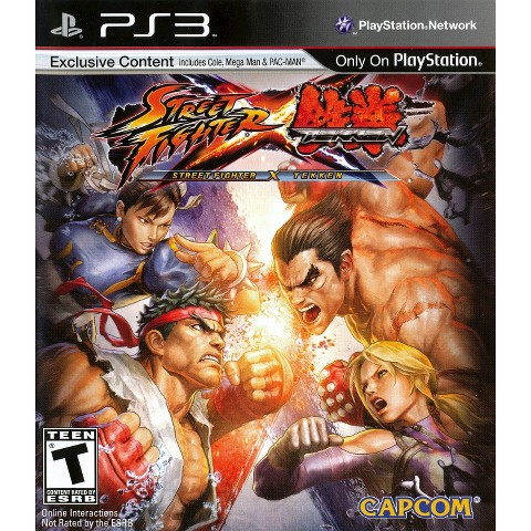 Street Fighter X Tekken PRE-OWNED (PlayStation 3)