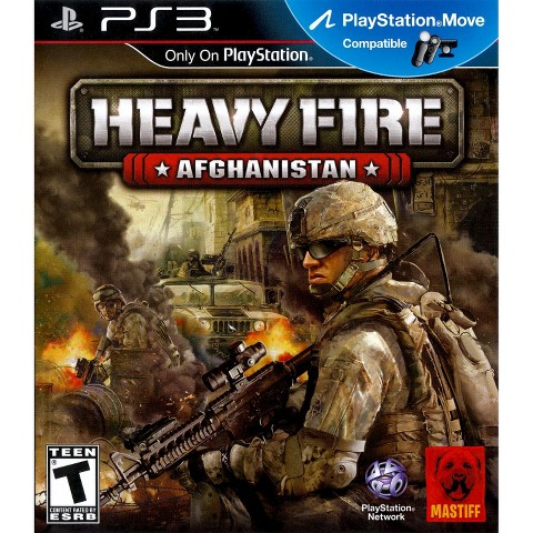 Heavy Fire: Afghanistan PRE-OWNED (PlayStation 3)