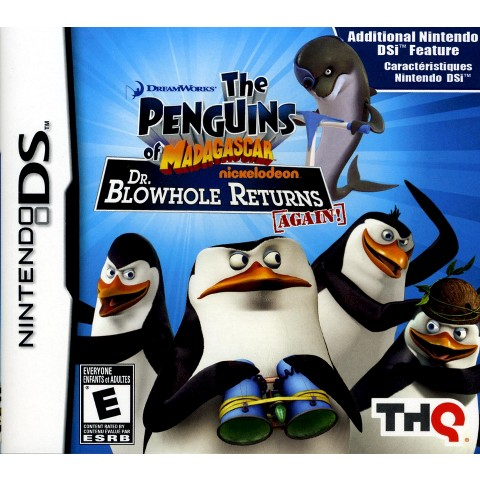 The Penguins Of Madagascar : Dr. Blowhole Returns PRE-OWNED (Nintendo DS)