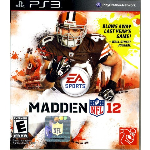Madden NFL 12 PRE-OWNED (PlayStation 3)