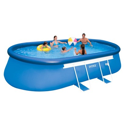 Intex Oval Frame Pool 18ft x 10ft x 42in