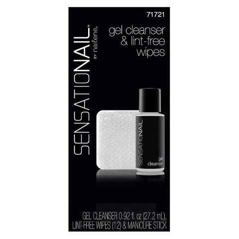 SensatioNail Gel Cleanser and Lint Free Wipes Refill Kit