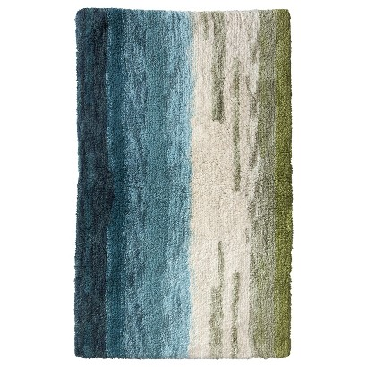 "THRESHOLD™ OMBRE BATH RUG - TROUT STREAM (20X34"")"
