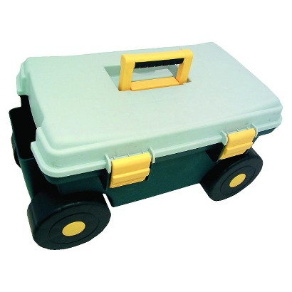 Sit-On-Garden Cart Green Base