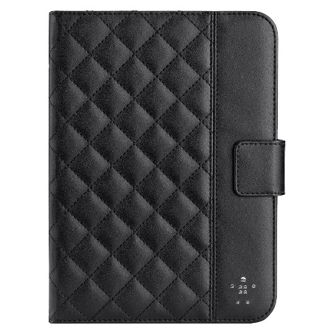 Belkin iPad Mini Quilted Tab Folio - Black (F7N007ttC00)