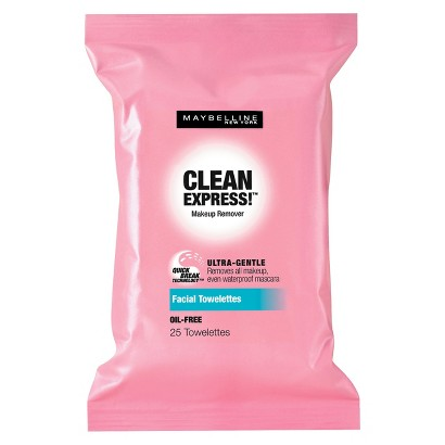 Maybelline® Clean Express!™ Makeup Remover Facial Towelettes - 25 ct