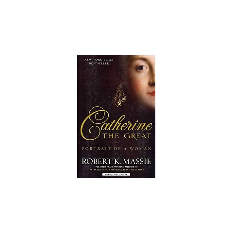 Catherine the Great (Large Print) (Paperback)