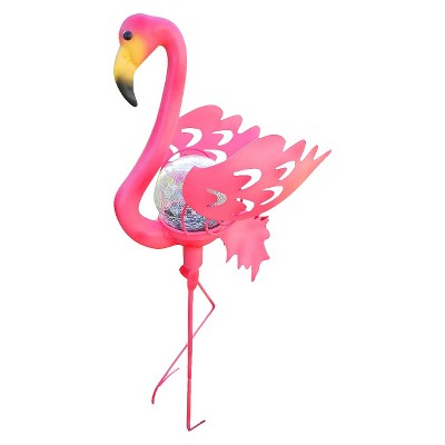 Pink Flamingo Garden Stake Solar Light - Pink