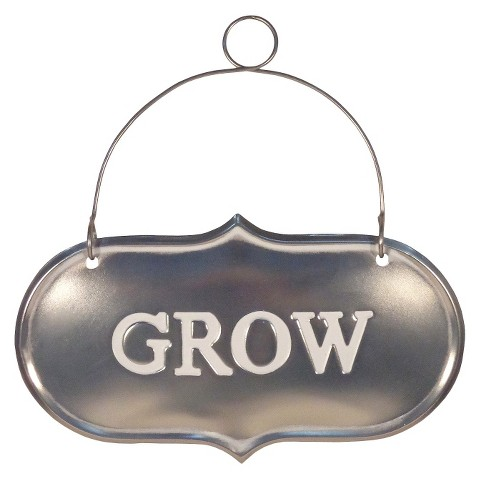 Smith & Hawken® Garden Grow Sign - 6.6""