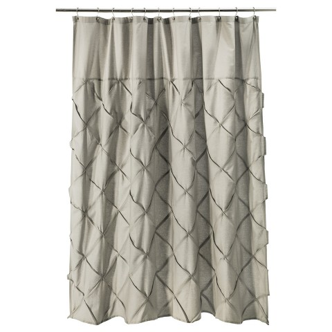 Threshold™ Pintuck Shower Curtain