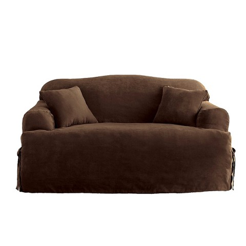 sure fit soft suede slipcovers target