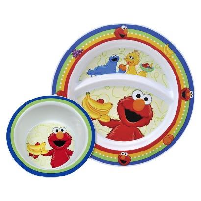 Munchkin Sesame Street Toddler Plate & Bowl