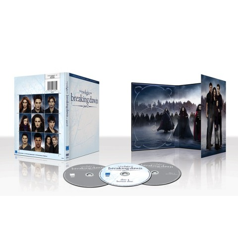 TARGET EXCLUSIVE THE TWILIGHT SAGA: BREAKING DAWN PART 2  (3-DISC DVD+DIGITAL COPY+ULTRAVIOLET)