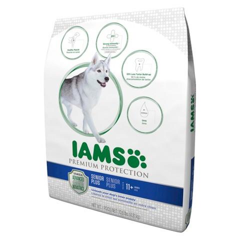Iams Premium Protection Senior Plus Dry Dog Food 10.6 lbs