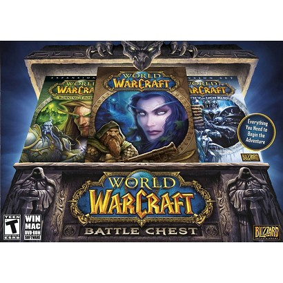 World of Warcraft: Battlechest with Wrath of the Lich King (PC Games)