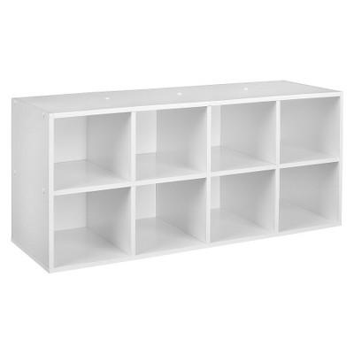 Storage Shelves Wood Laminate CLOSETMAID White