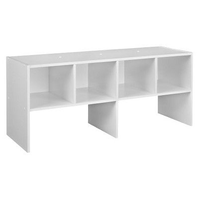 ClosetMaid 4-Compartment Closet Shelf Organizer - White