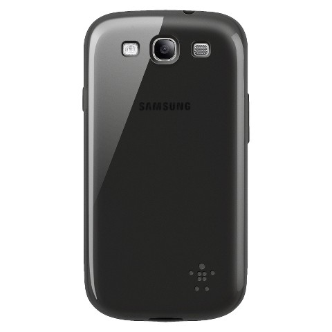 Belkin Cell Phone Grip Sheer Case for Samsung Galaxy S III - Black (F8M398ttC00-TG)