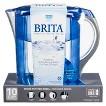 Brita Grand Water Filter Pitcher - Black/Blue/Turquiose