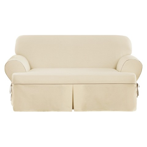 Sure Fit Corded Canvas Slipcovers