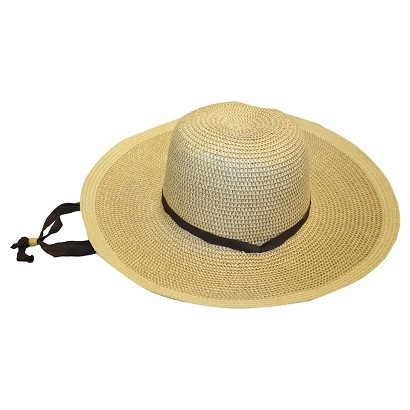 Smith & Hawken Ladies' Floppy Straw Hat
