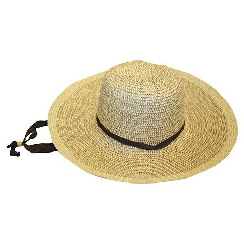 Smith & Hawken™ Ladies' Floppy Straw Hat