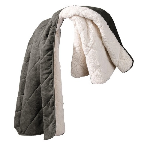 Sure Fit Sherpa Suede Pet Covers