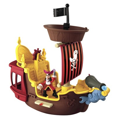 Disney Jake and The Never Land Pirates Hook's Jolly Roger Pirate Ship