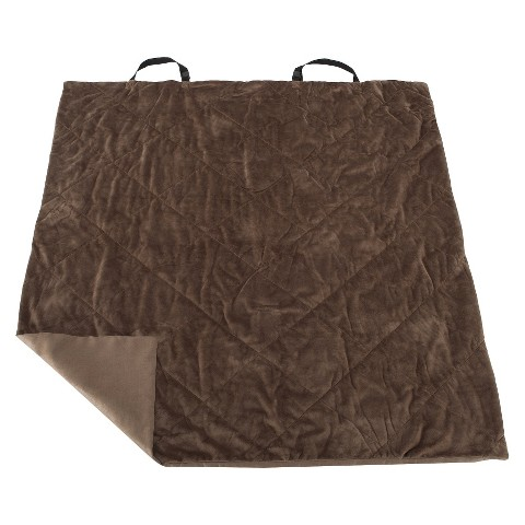 Buddy Beds Seat Protector Dog Blanket - Taupe