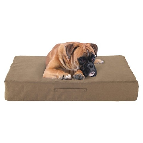 Buddy Beds Memory Foam Dog Bed - Taupe
