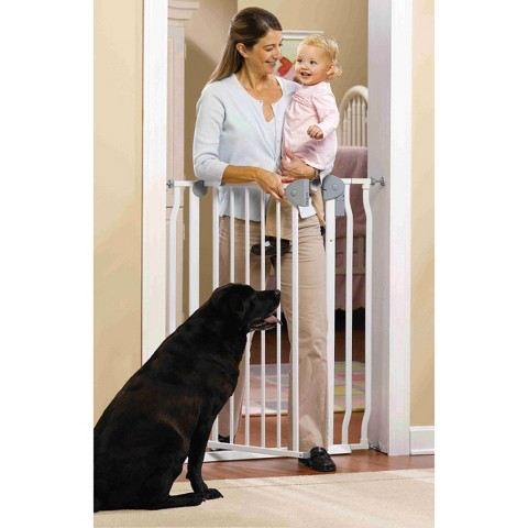 GuardMaster® IV 420 Extra Tall Steel Baby and Pet Gate with Alarm